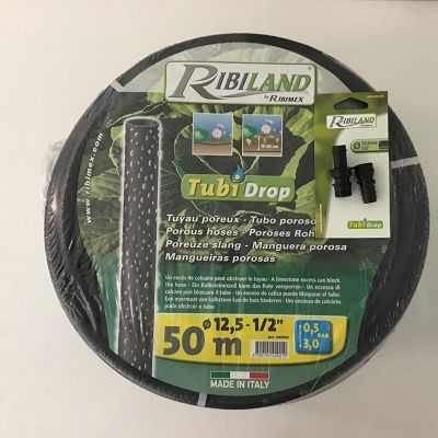 Tubi 'Drop diametro inerno 12,5mm - lunghezza 25 mt Ideale per irrigare le piantagioni e l'orto