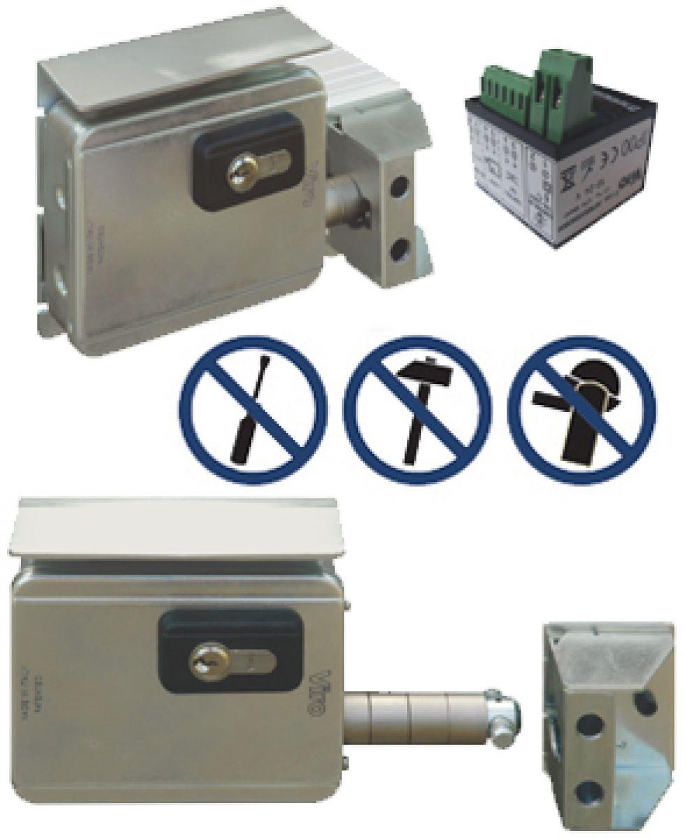 Serrature elettriche per cancelli e serrature di sicurezza per portoni e cancelli scorrevoli